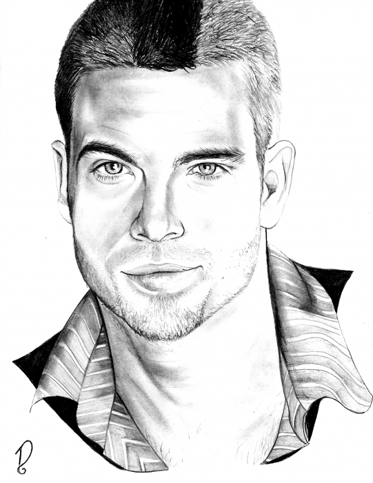 Mark Salling by Dsorian